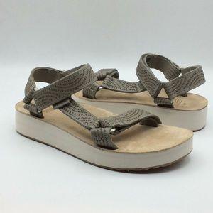 Teva MidformUniversal Geometric Desert Sage Sandal